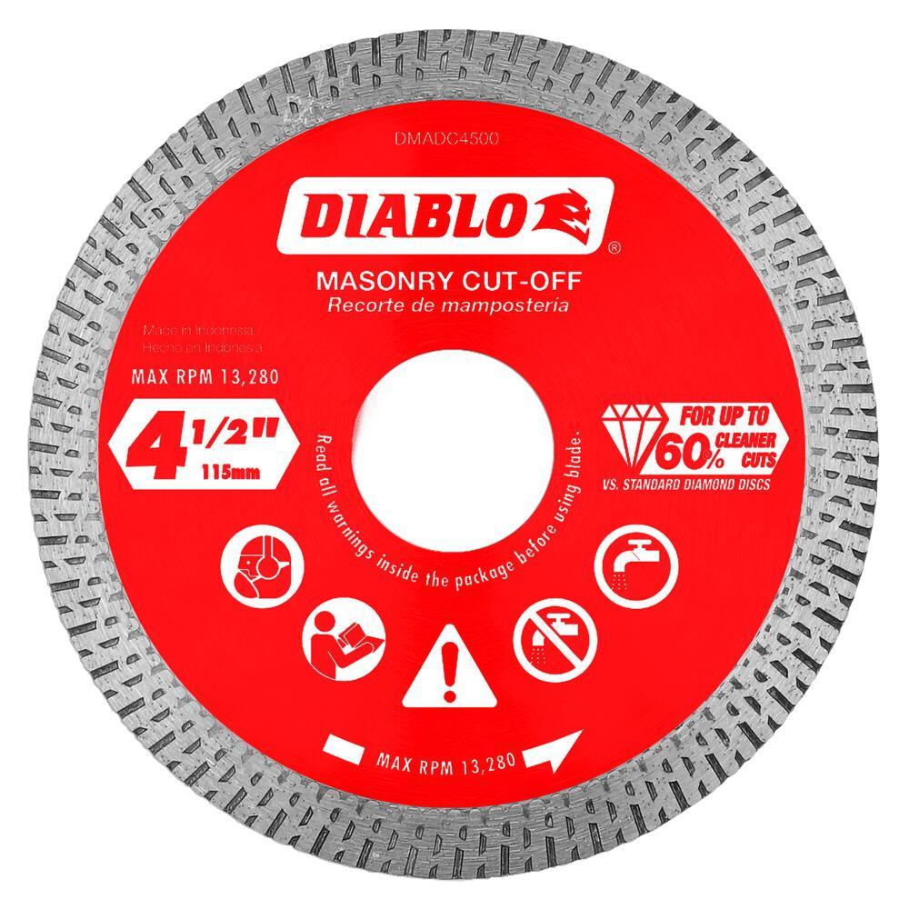 DISC CUT-OFF CONT RIM 4-1/2IN