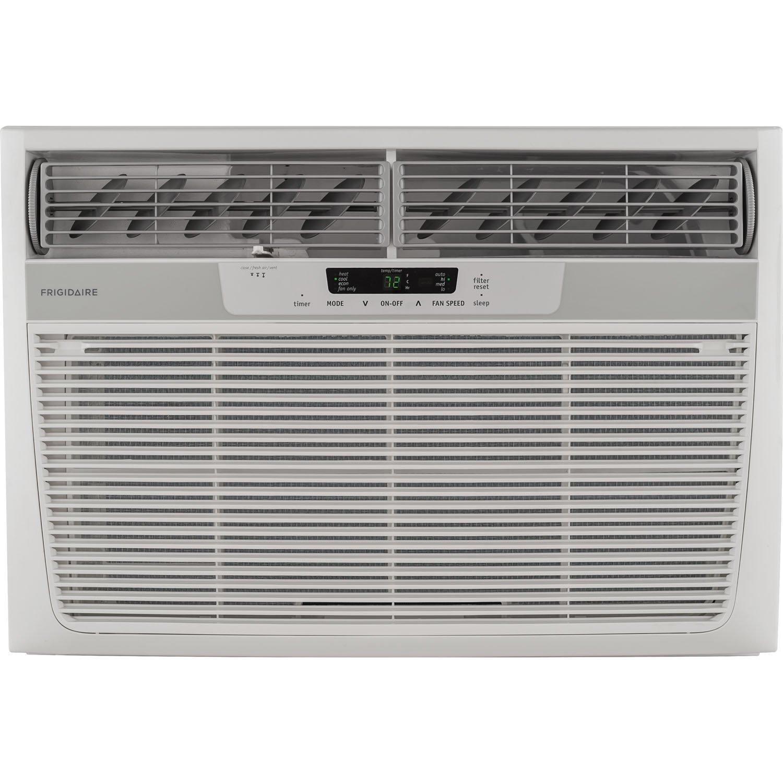 25000 BTU Heat/Cool Window Air Conditioner, Electronic Controls, 230V