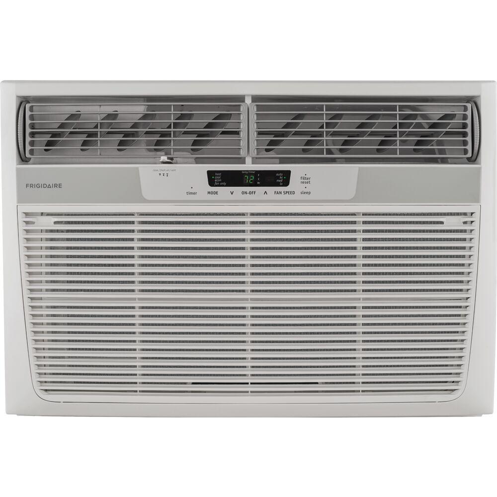 18000 BTU Heat/Cool Window Air Conditioner, Electronic Controls, 230V