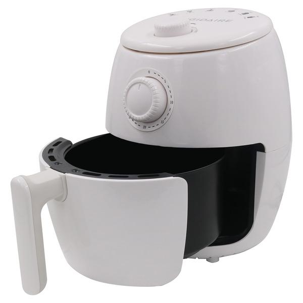 Frigidaire EAF180-WHITE 1.8-Quart 800-Watt Countertop Electric Air Fryer with Timer (White)