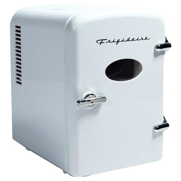 Frigidaire EFMIS129-WHITE .5-Cubic-Foot Retro Portable Mini Fridge (White)
