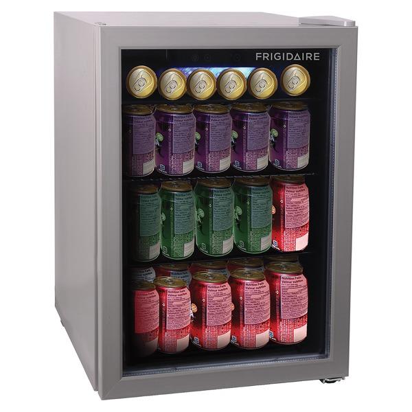 Frigidaire EFMIS9000 2.6-Cubic-Foot 88-Can Glass Door Beverage Center Compact Refrigerator