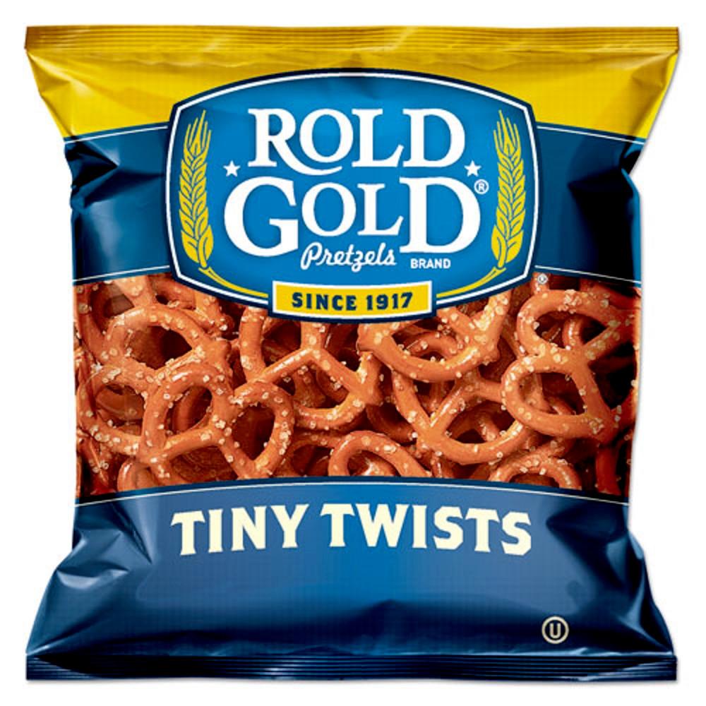 Tiny Twists Pretzels, 1 oz Bag, 88/Carton