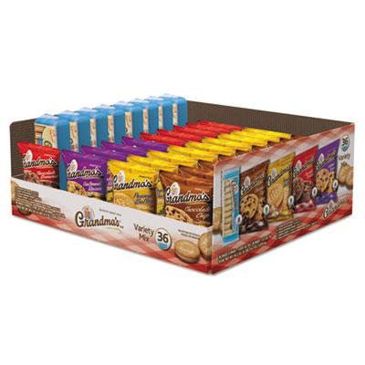 Cookies Variety Tray 36 Ct, 2.5 oz Packs