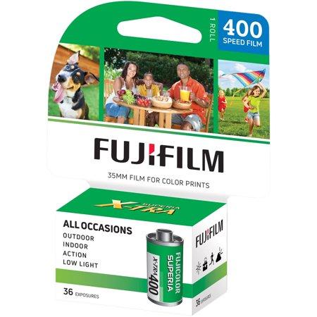 Fujifilm 600020058 Fujicolor Superia X-TRA 400 Color Negative Film (Single Roll)