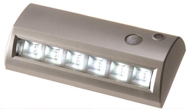 Fulcrum 20032-301 Utility Lights, Path Light - 6-Led, Silver