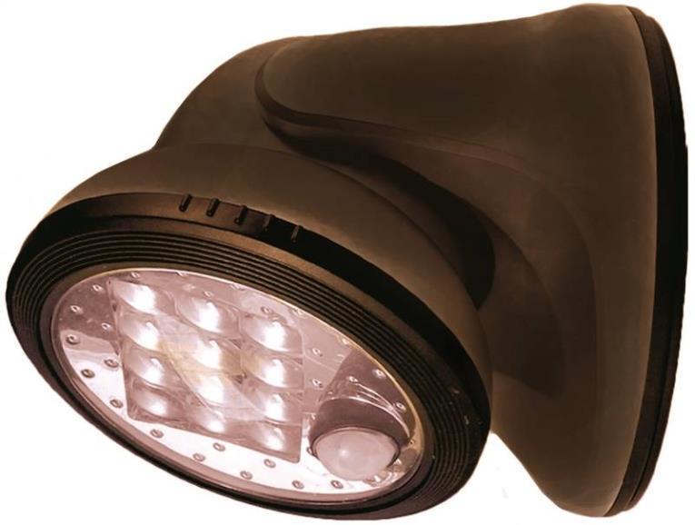 Fulcrum 20034-107 Utility Lights, Porch Light - 12 Led, Bronze