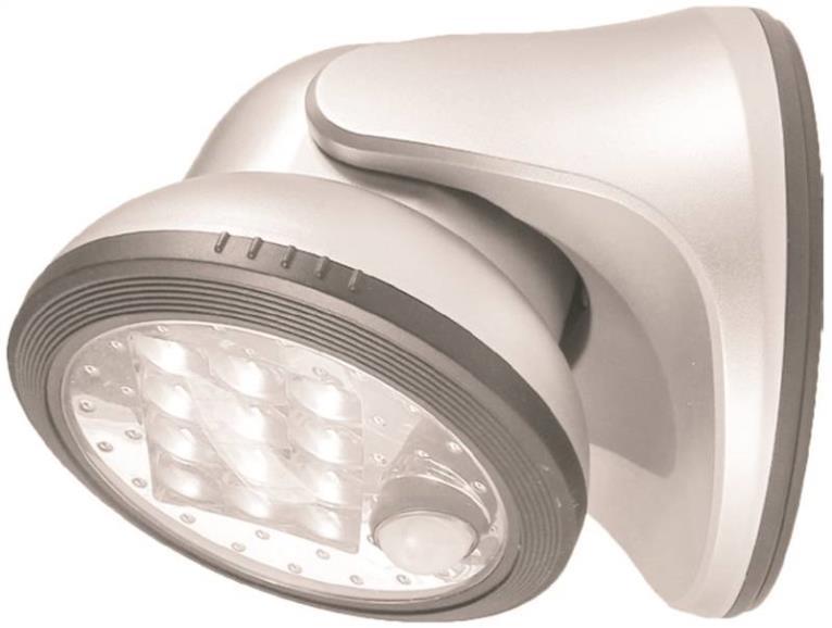 Fulcrum 20034-108 Utility Lights, Porch Light - 12 Led, White