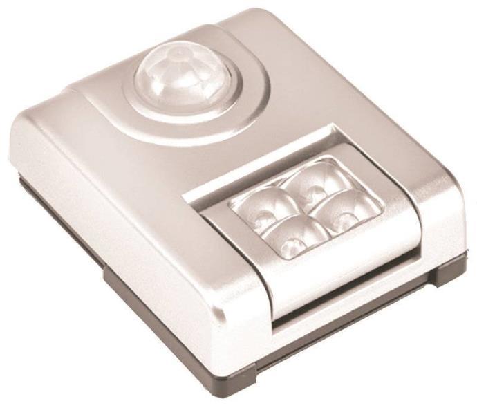 Fulcrum 20043-308 Utility Lights, 4-Led Sensor, White