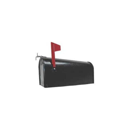 1C-BLK T1 BLACK STEEL MAILBOX