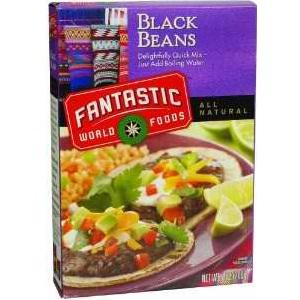 Fantastic Foods Instant Black Beans (1x3-33 Lb)