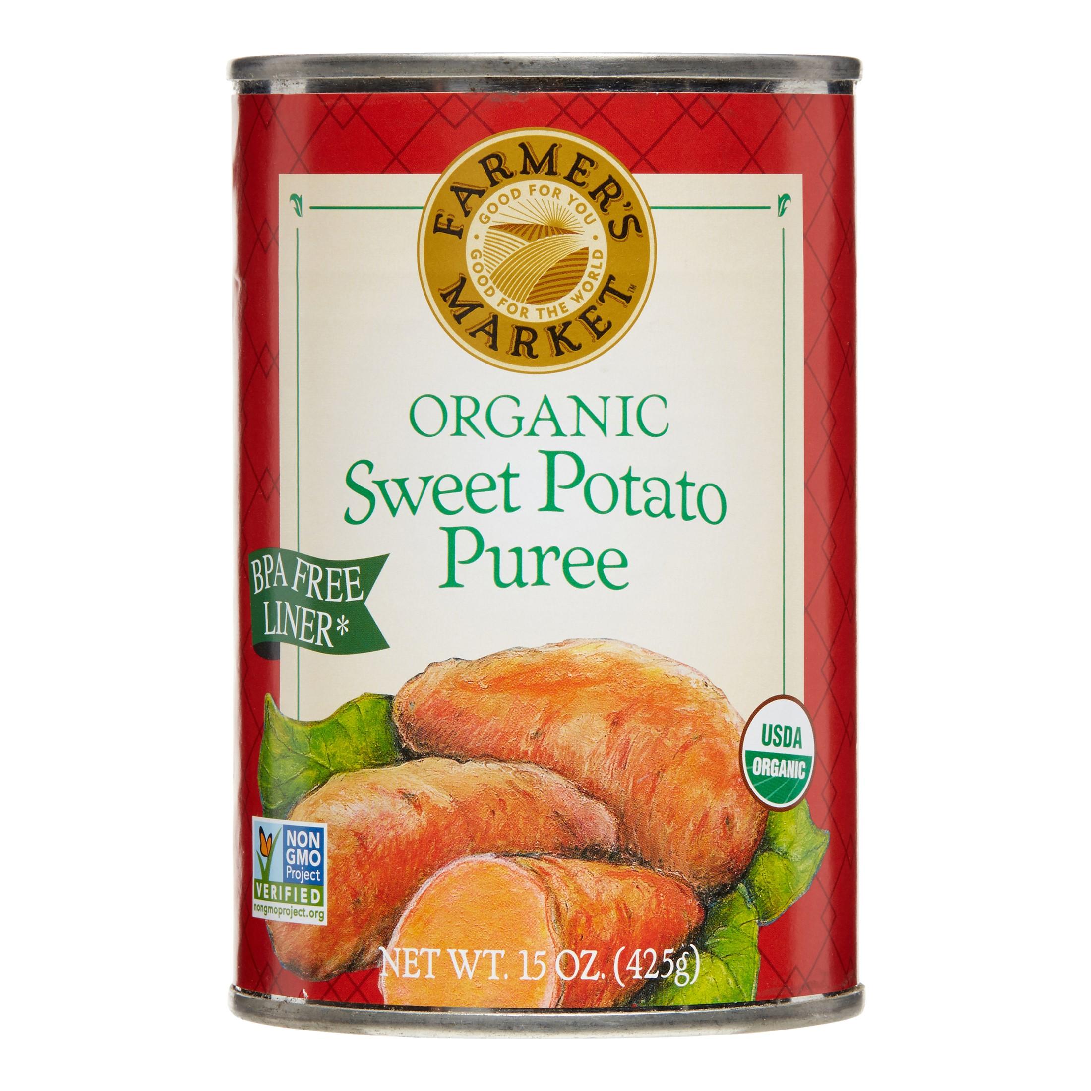Farmers Market Canned Pure Sweet Potato (12x15 Oz)
