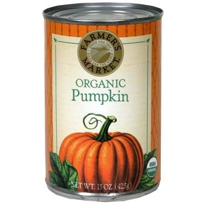 Farmers Market Can Pumpkin (12x15OZ )