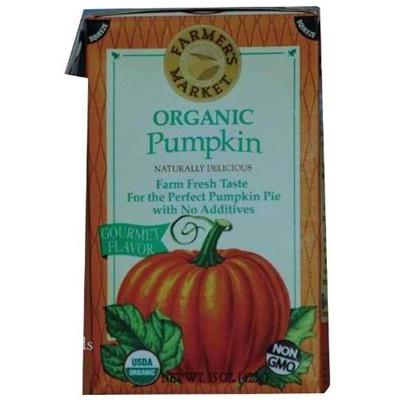 Farmers Market Pumpkin Puree (12x15OZ )