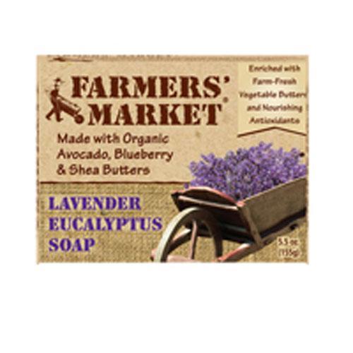 Farmer's Market Lavendar/ Eucalyptus Bar Soap (1x55 Oz)