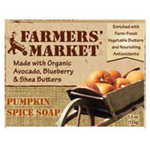 Farmer's Market Natural Bar Soap Pumpkin Spice (1x55 Oz)