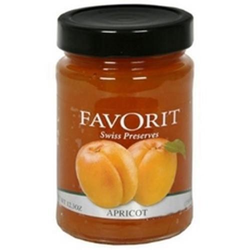 Favorit Preserves, Apricot (6x123Oz)