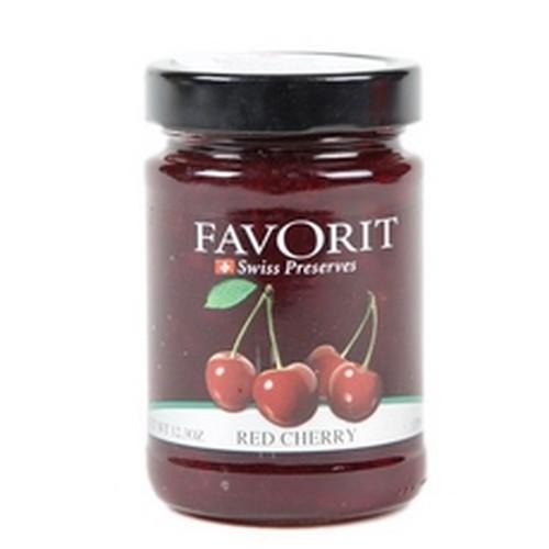 Favorit Swiss Red Cherry Preserves (6x123Oz)