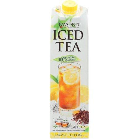 Favorit Ice Tea with Lemon Juice (6x338 Oz)