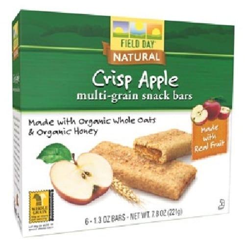 Field Day Snk Bar Crisp Apple (6x78OZ )