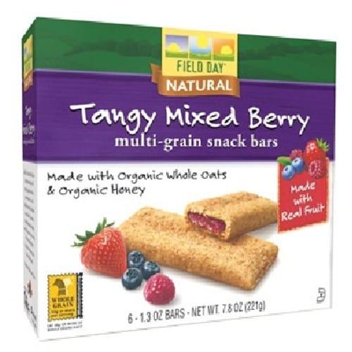 Field Day Snk Bar Mixed Berry (6x78OZ )