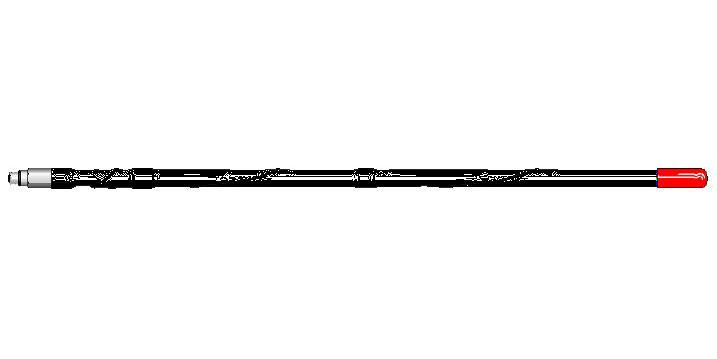 3' MOBILE SCANNER ANTENNA (BLACK)