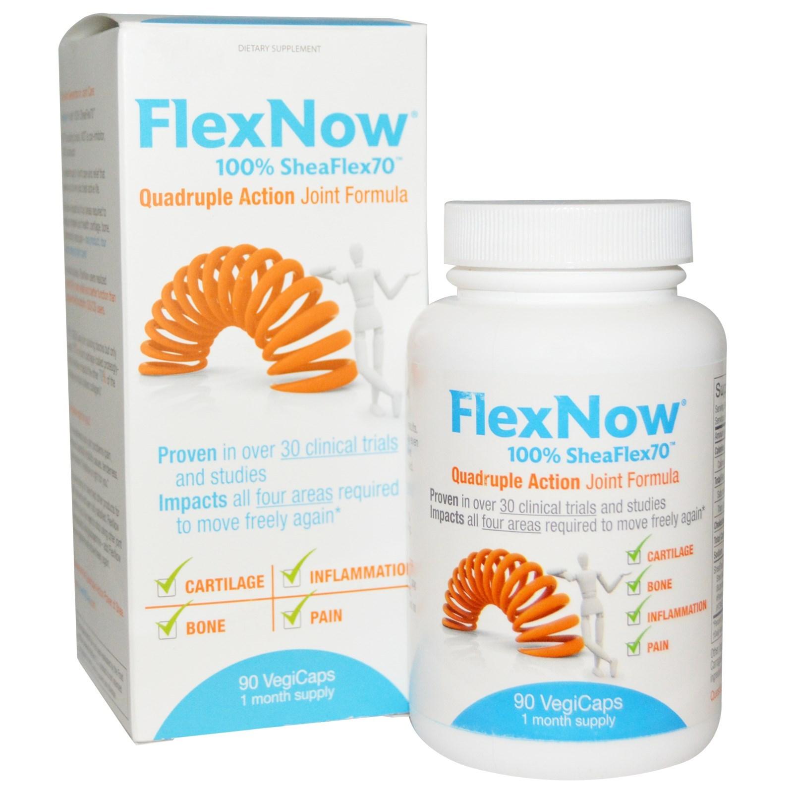 FlexNow Quadruple Action Joint Formula (90 Softgels)