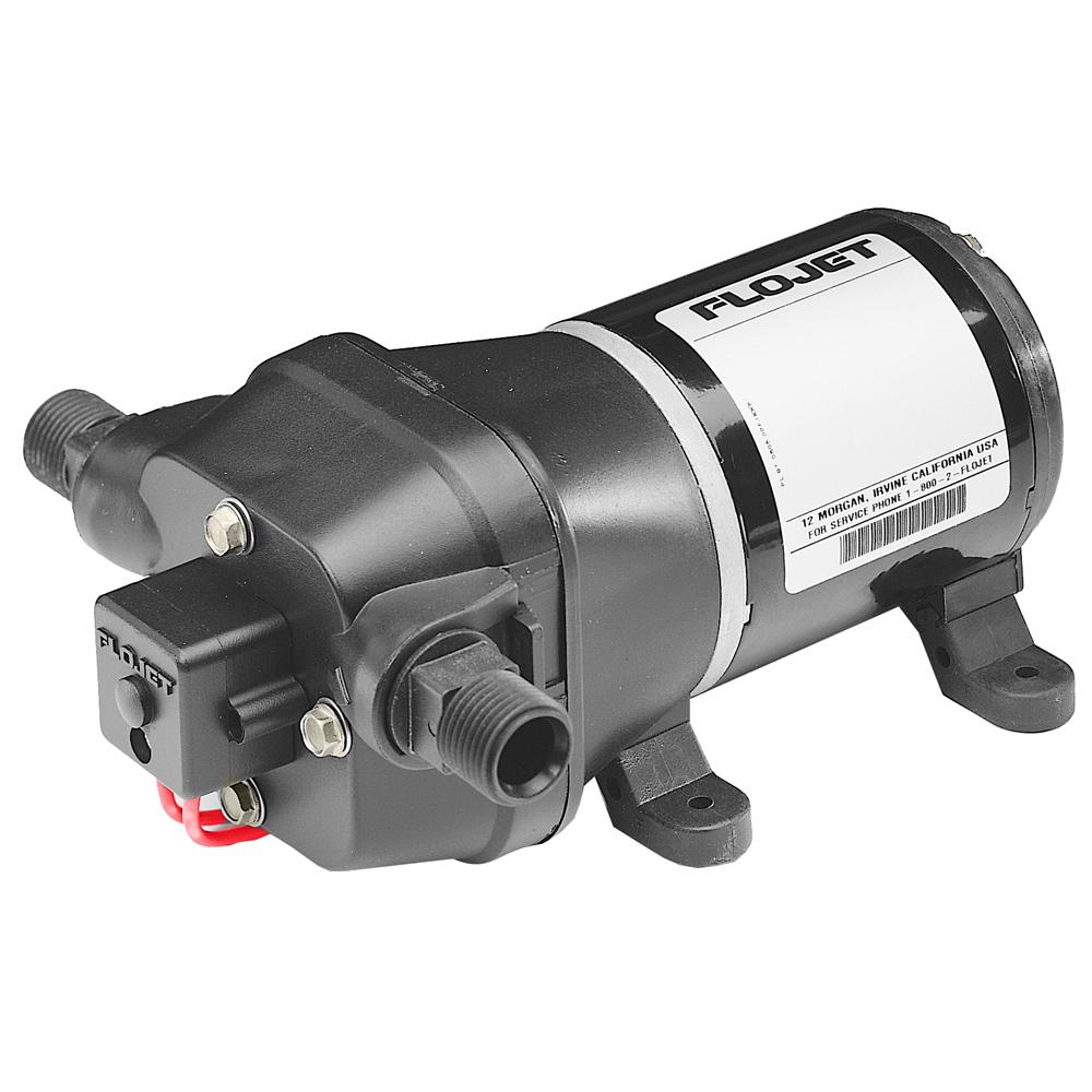 FloJet Quad DC Water System Pump - 12V/3.3GPM