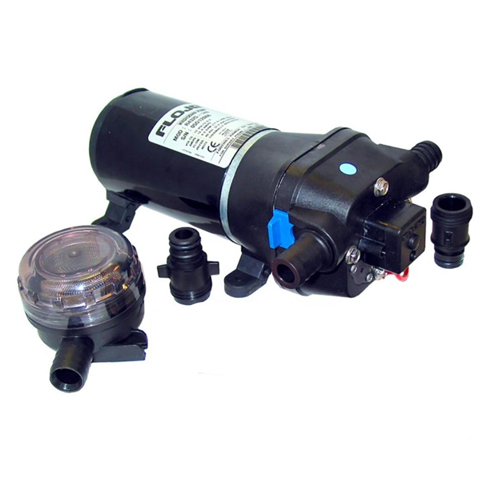 FloJet 24V, 40psi Heavy Duty Water Pressure Pump - 4.3 GPM