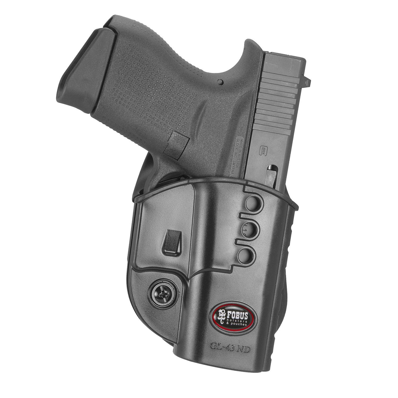 Fobus Evolution Paddle Holster Glock 43 Left
