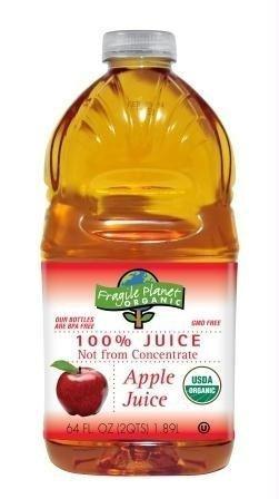 Fragile Planet Organic Apple Juice (8x64OZ )