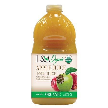 Fragile Planet Organic Apple Unfltr Juice (8x64OZ )