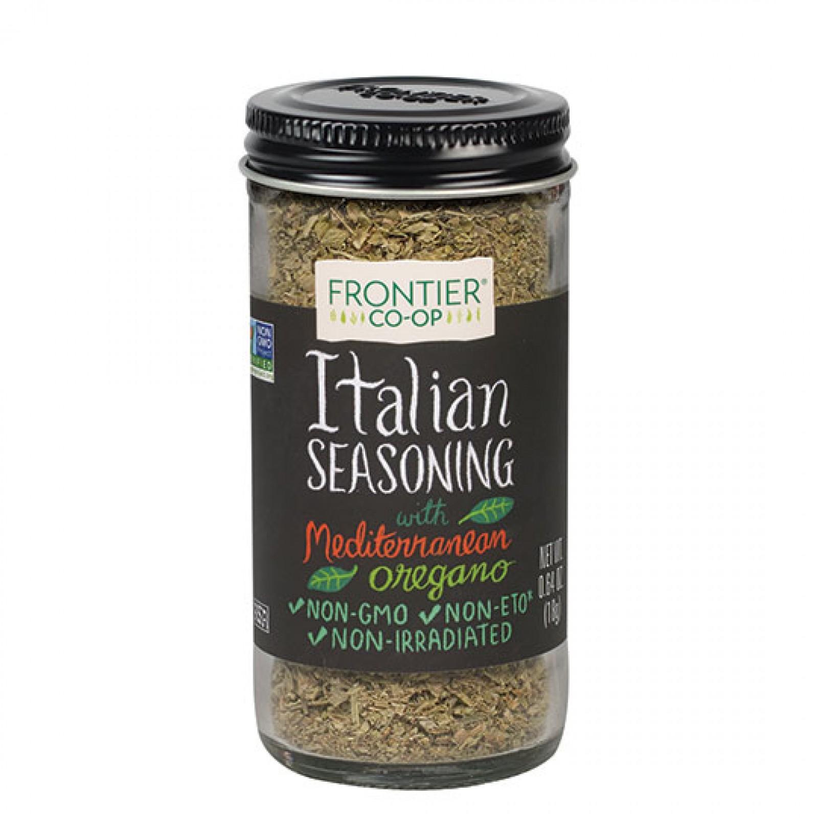 Frontier Herb Saltless Italian (1x64 Oz)