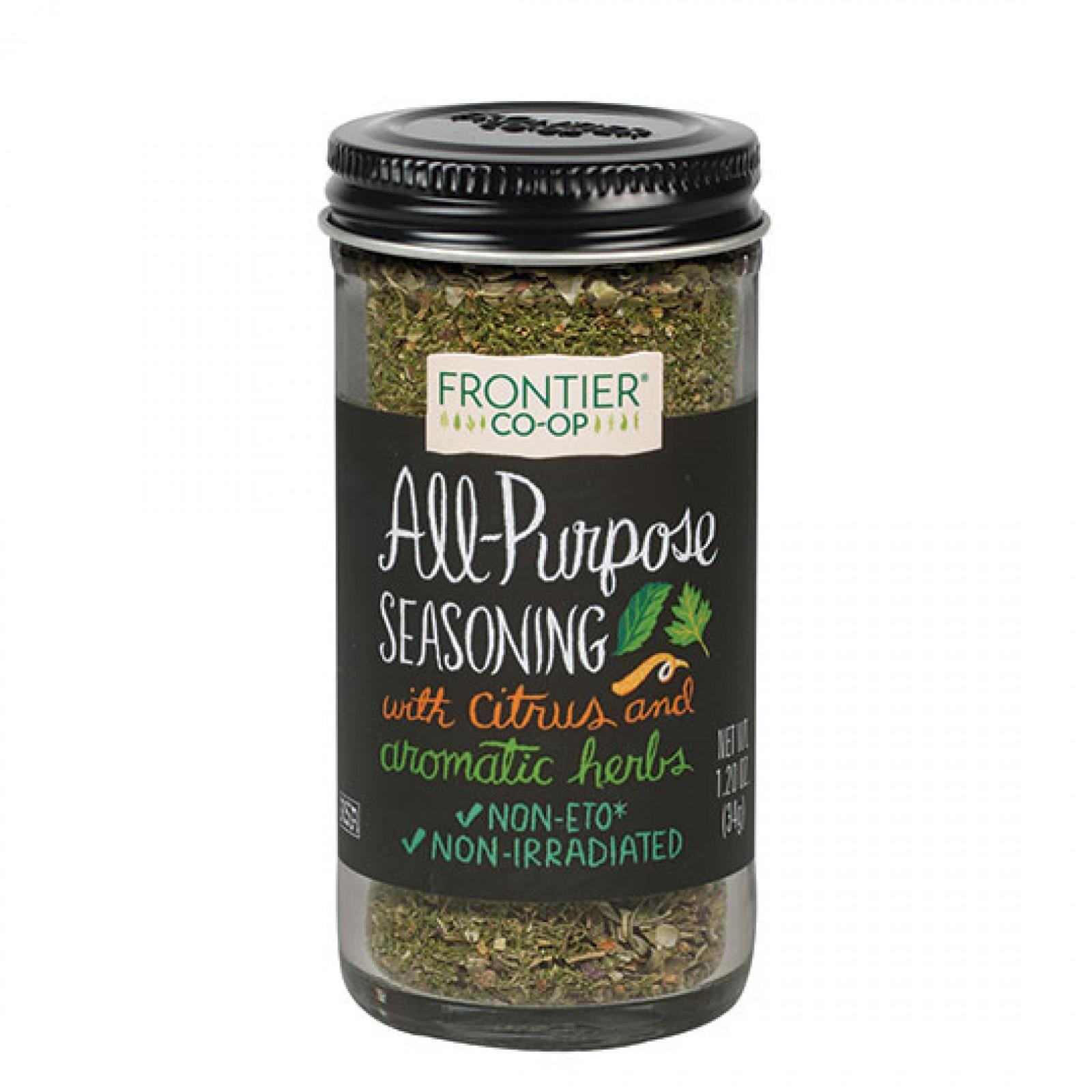 Frontier Herb Saltless All Purpose (1x128 Oz)