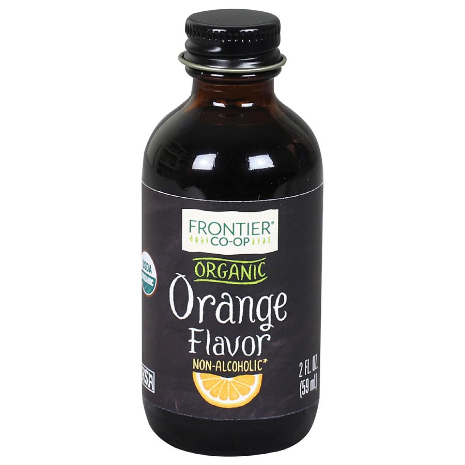 Frontier Herb Organic Orange Flavor A/F (1x2 Oz)