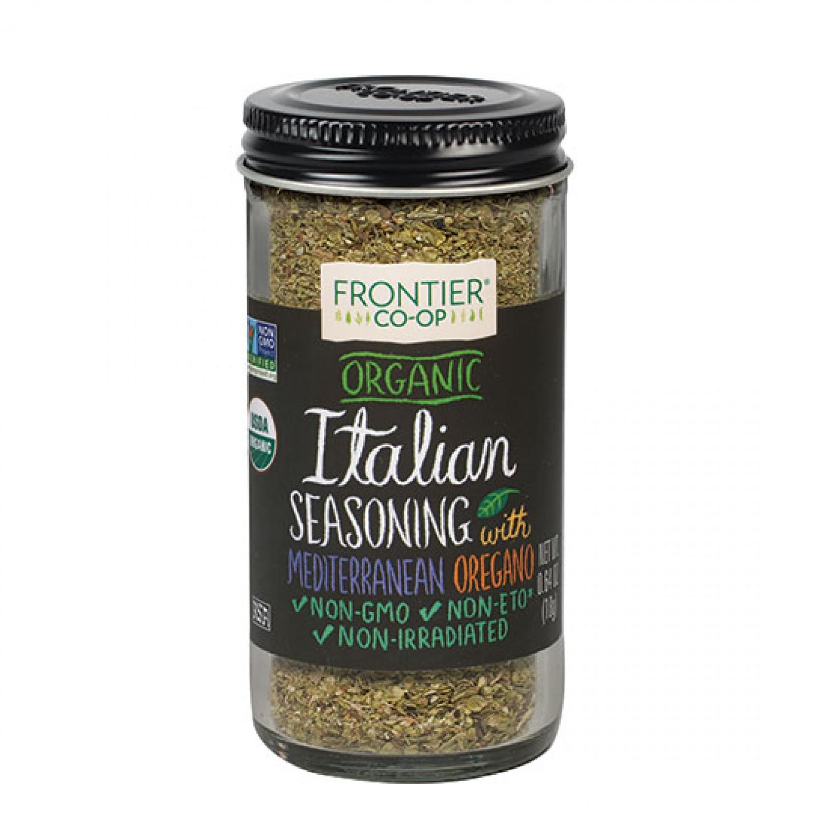 Frontier Herb Organic Saltless Italian Season (1x64 Oz)