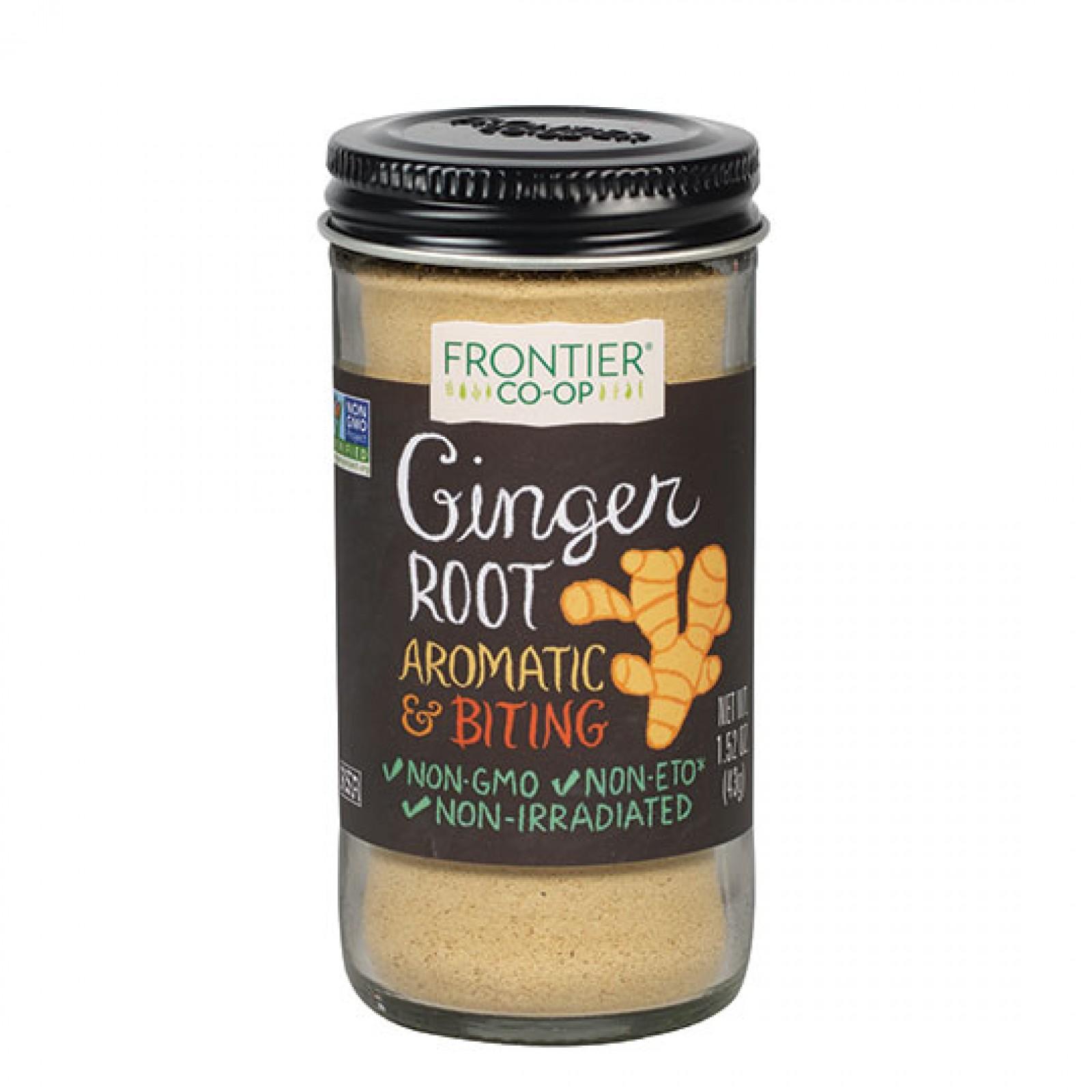 Frontier Herb Ground Jamaica Ginger Root (1x152 Oz)