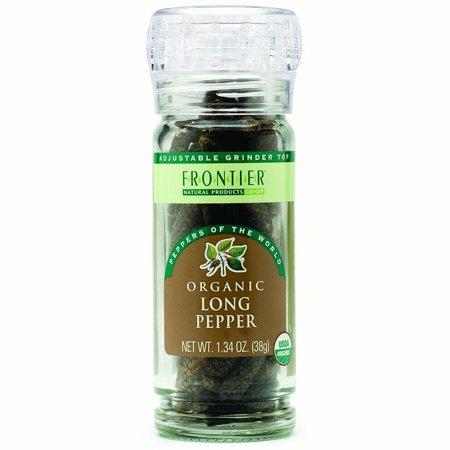 Frontier Herb Organic Long Pepper (6x134Oz)
