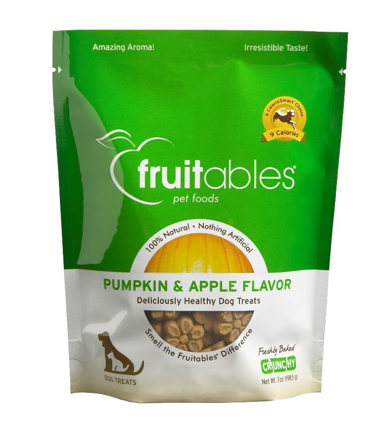 Fruitables Pumpkin & Apple Mix Dog Treats (8x7 Oz)