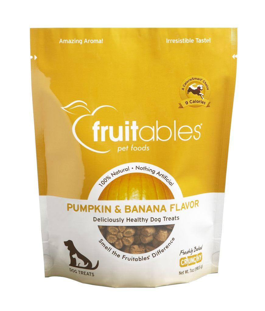 Fruitables Pumpkin & Banana Mix Dog Treats (8x7 Oz)