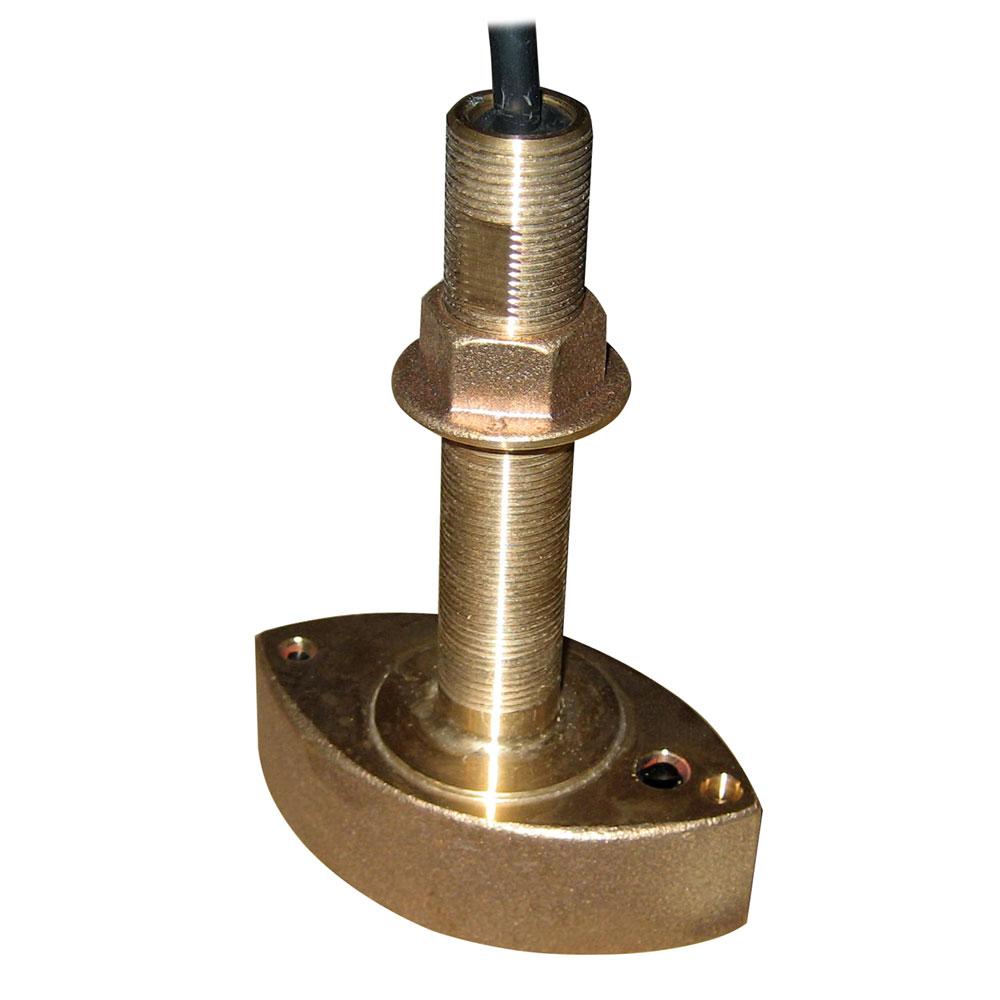 Furuno 525T-BSD Bronze Thru-Hull Transducer w/Temp, 600W (10-Pin)