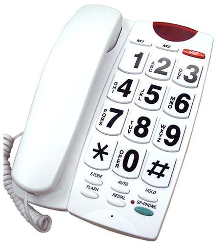 BIG BUTTON AMPLIFIED SPEAKERPHONE