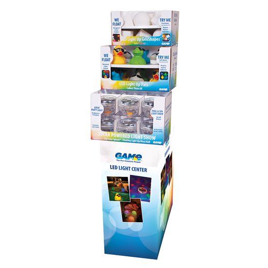 LED POP Display w/ merchandise assortment