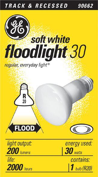 30R20 30W FLOOD LIGHT BULB