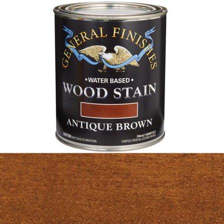 STAIN WOOD ANTIQUE BROWN 1QT