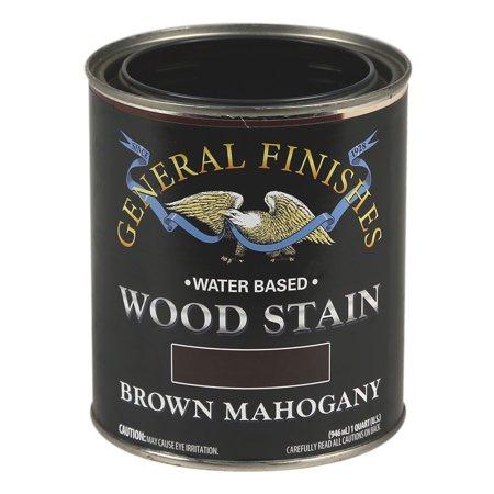 STAIN WOOD BROWN MAHOGANY 1QT