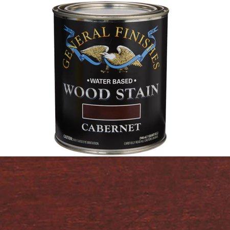 STAIN WOOD CABERNET INTR 1QT