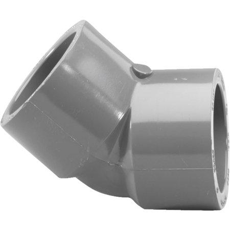 306058 1/2 IN. PVC S80 45 ELBOW