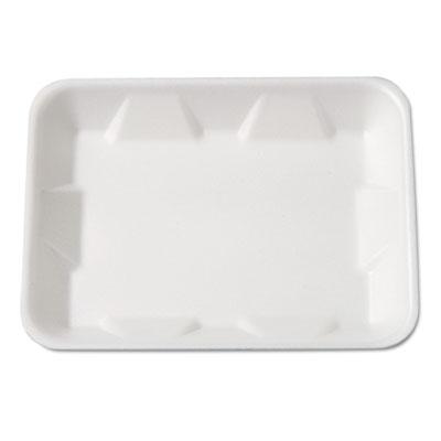 Supermarket Tray, Foam, White, 9-1/4 x 7-1/4 x 4/5, 125/Bag