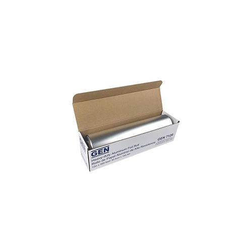 "Heavy-Duty Aluminum Foil Roll, 12"" x 500 ft, 6/Carton"